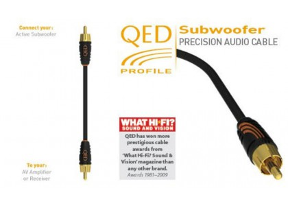 QED profile subwoofer