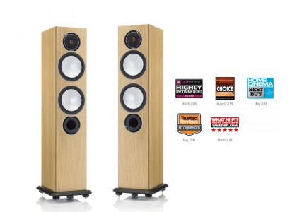 Monitor Audio Silver 6 natural oak