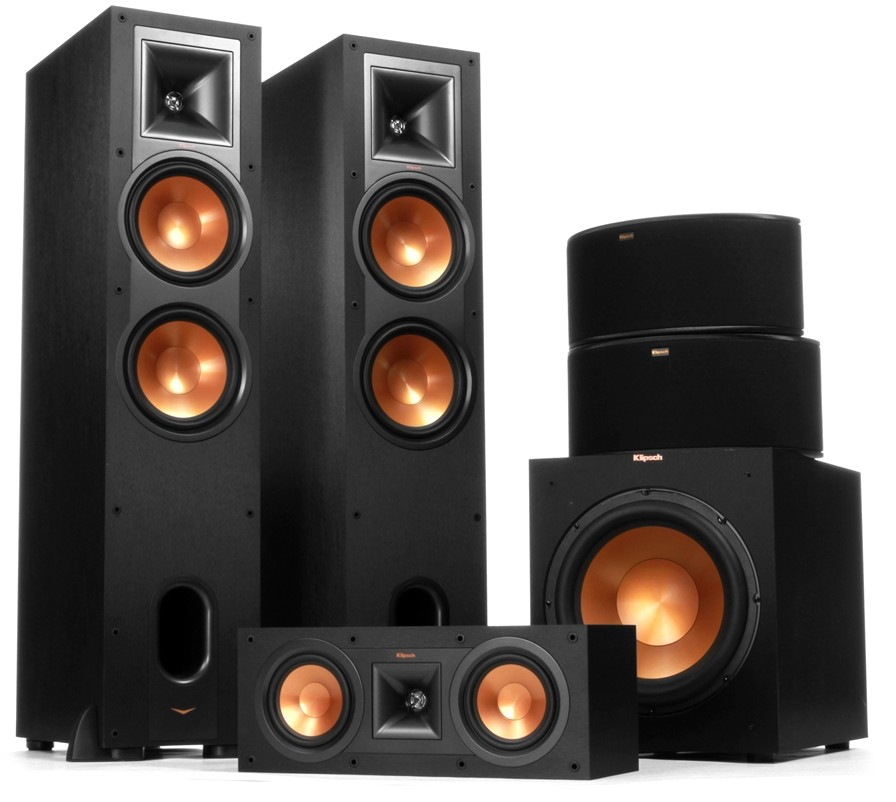 klipsch reference r 28f r28f r 25c r 14s lub r 15m. Black Bedroom Furniture Sets. Home Design Ideas