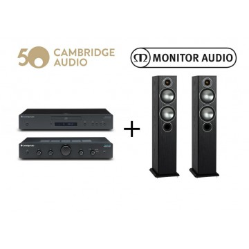 Monitor Audio Bronze 5 + Topaz AM10+CD5