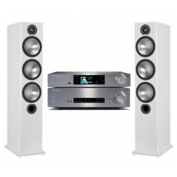Cambridge Audio CXA60 + CXNv2 + Monitor Audio Bronze 6