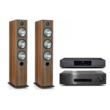 Cambridge Audio CXA60 + CXC + Monitor Audio Bronze 6 + okablowanie GRATIS
