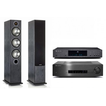 Cambridge Audio CXA60 + CXC + Monitor Audio Bronze 6