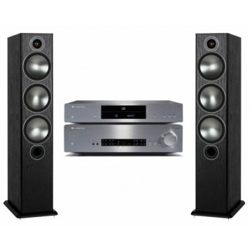 Cambridge Audio CXA80 + CXC + Monitor Audio Bronze 6