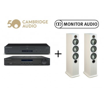 Monitor Audio Bronze 6 + Topaz AM10+CD5