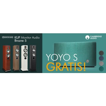 Monitor Audio Bronze 5 + Cambridge Audio YOYO S GRATIS