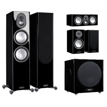 Monitor Audio Gold 5G 300/C250/100 + W12