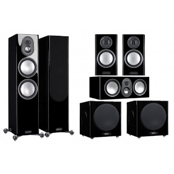 Monitor Audio Gold 5G 300/C250/100 + W12x2
