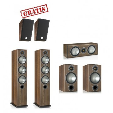 Monitor Audio Bronze 6 System Dolby Atmos 5.0.2 + GRATIS
