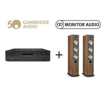 Monitor Audio Bronze 6 + Topaz SR10 V2