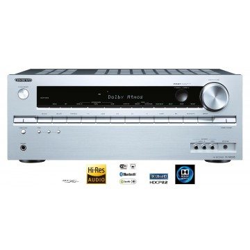 Onkyo TX-NR545 silver front