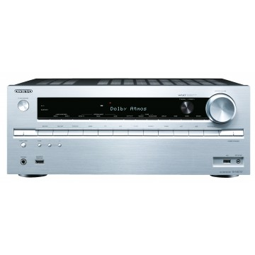 Onkyo TX-NR737 silver front
