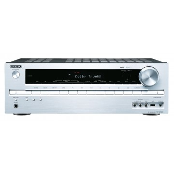 Onkyo TX-NR535 silver front