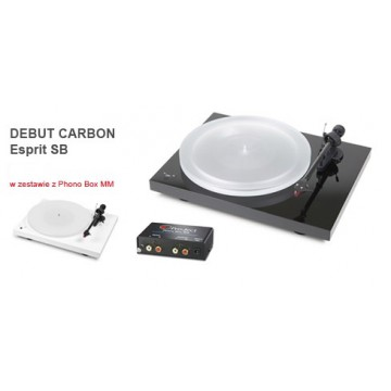 Pro-Ject Debut Carbon Esprit SB DC + Phono BOX MM