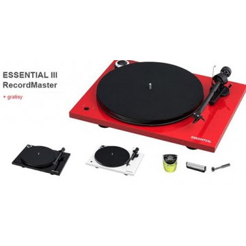 PRO-JECT Essential III RECORDMASTER + akcesoria