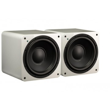Dual dwa subwoofery SVS do stereo