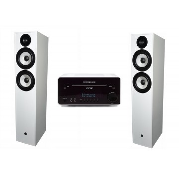 Cambridge Audio One + Pylon Audio Pearl 25  WHITE