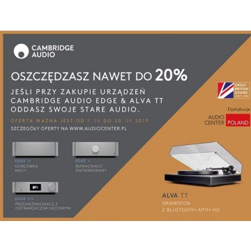 PROMO STARE NA NOWE Cambridge Audio Edge W