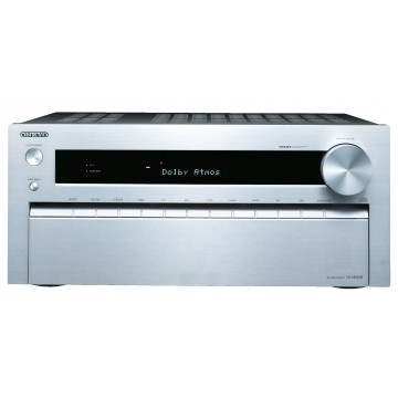 Onkyo TX-NR838 silver front